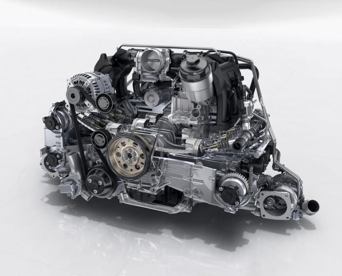 Porsche 911 2016 motor