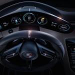 Porsche Mission E Concept 2015 interior 02