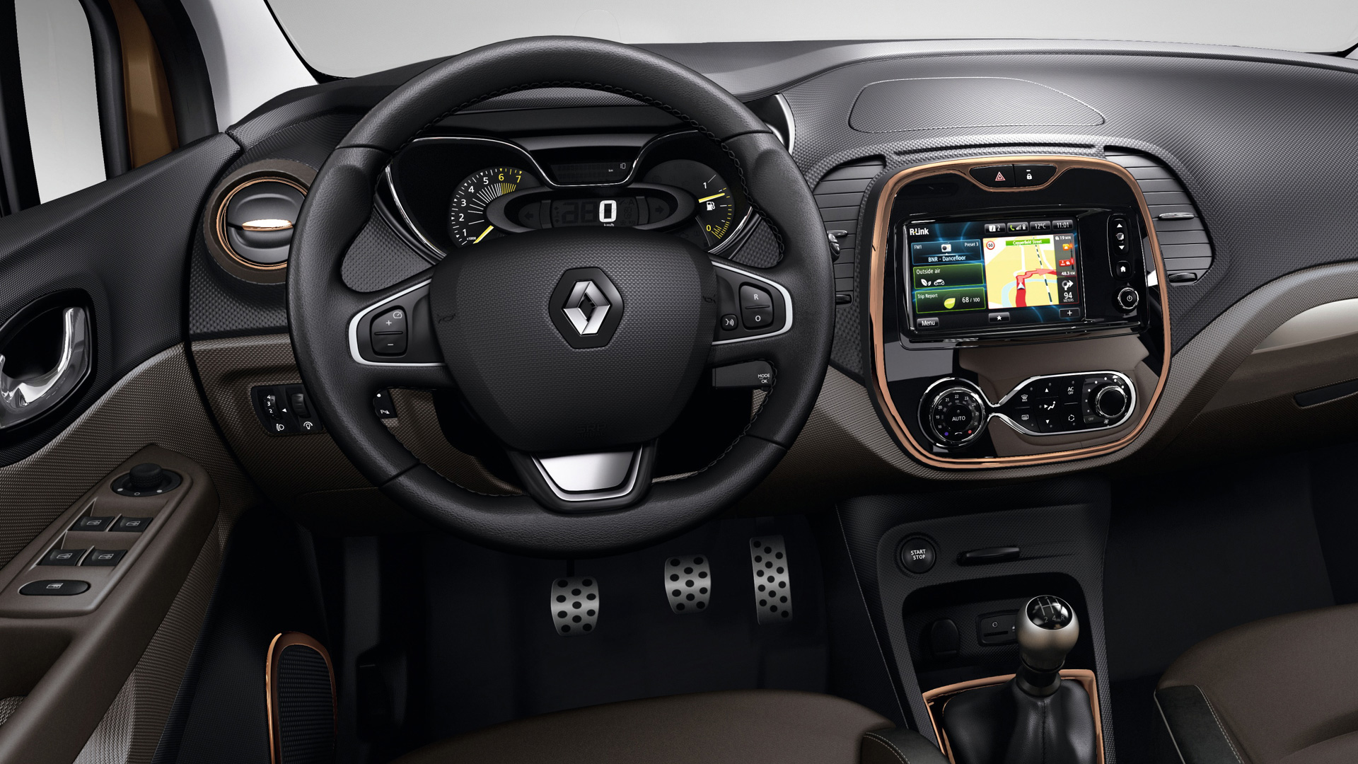 Renault captur sl premium llega el alto de gama for Interior renault captur