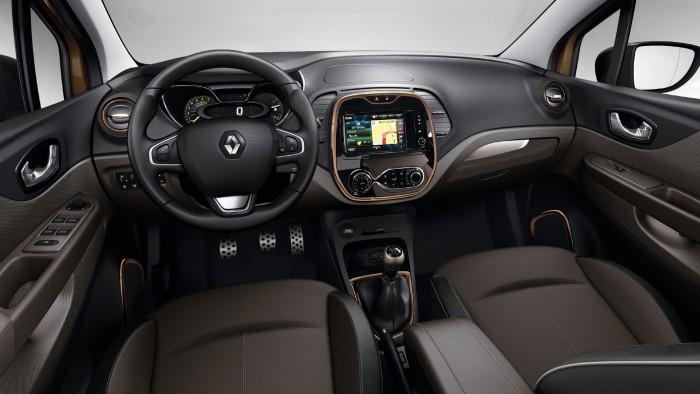 Renault Captur Sl Premium 2015 interior 01