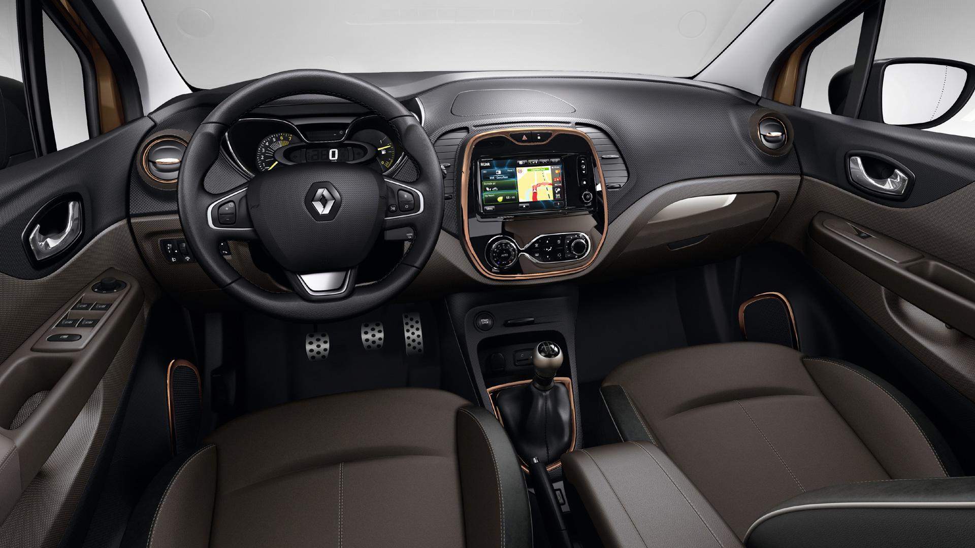 Renault captur sl premium llega el alto de gama - Interieur renault captur ...