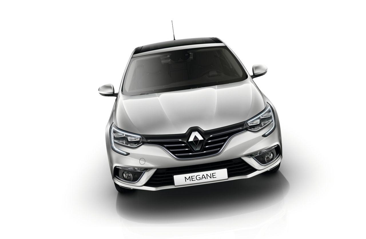 Renault Megane 2016 frontal