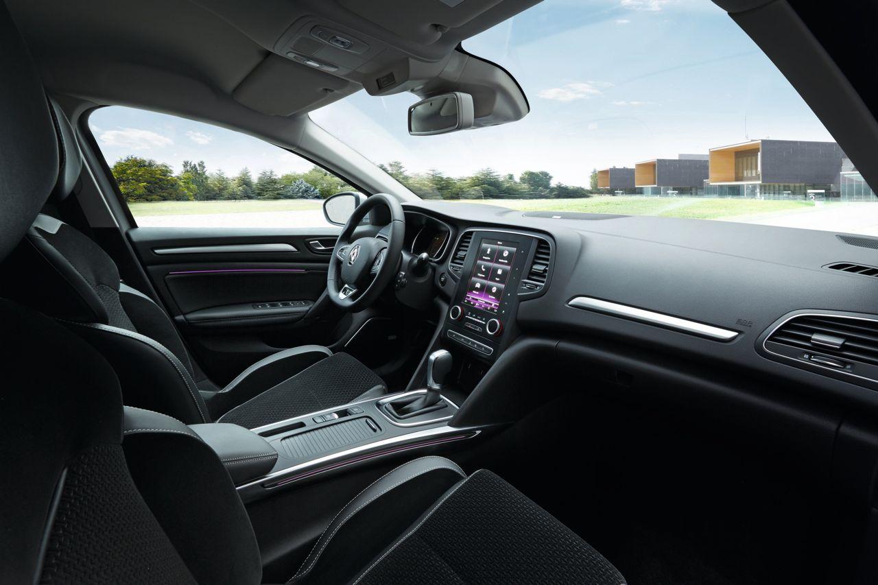 Renault Megane 2016 asientos delanteros