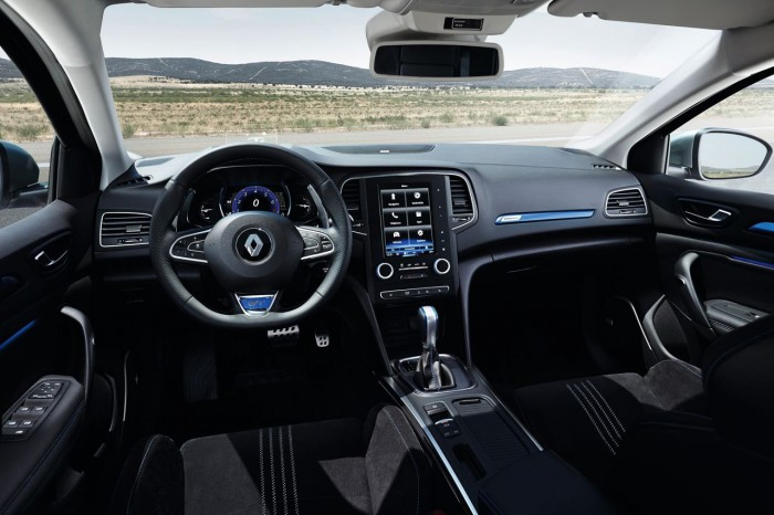 Renault Megane GT 2016 interior 02