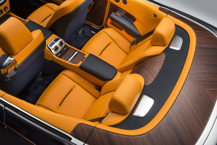 Rolls-Royce Dawn 2016 interior 04