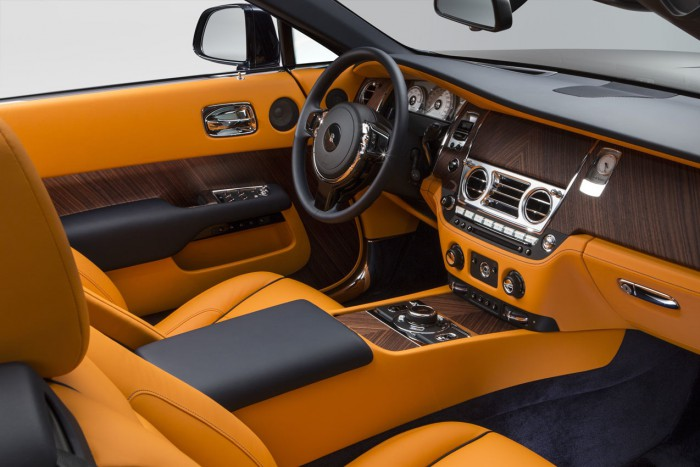 Rolls-Royce Dawn 2016 interior 06