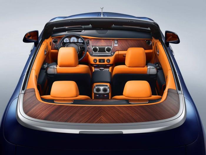 Rolls-Royce Dawn 2016 interior 09
