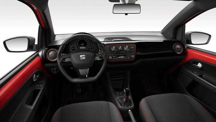 Seat Mii FR-Line 2016 interior 01