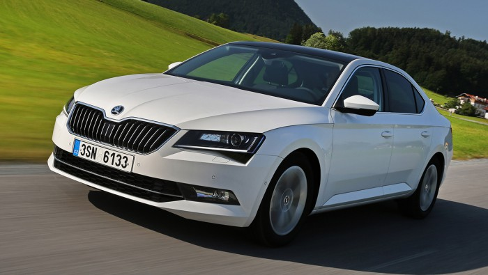 Skoda Superb Greenline 2015 02