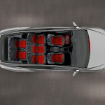 Tesla Model X 2016 interior 02