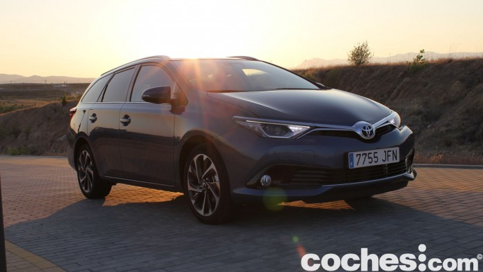 Toyota Auris Touring Sports 2015 prueba 45