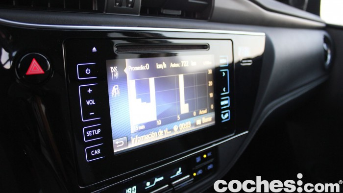 Toyota Auris Touring Sports 2015 prueba interior 30