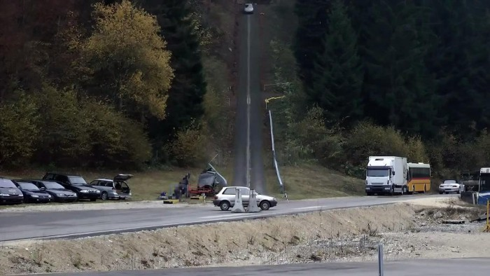 crash test 200 km-h
