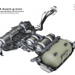 Audi A4 Avant g-tron 2016 tanques de CNG