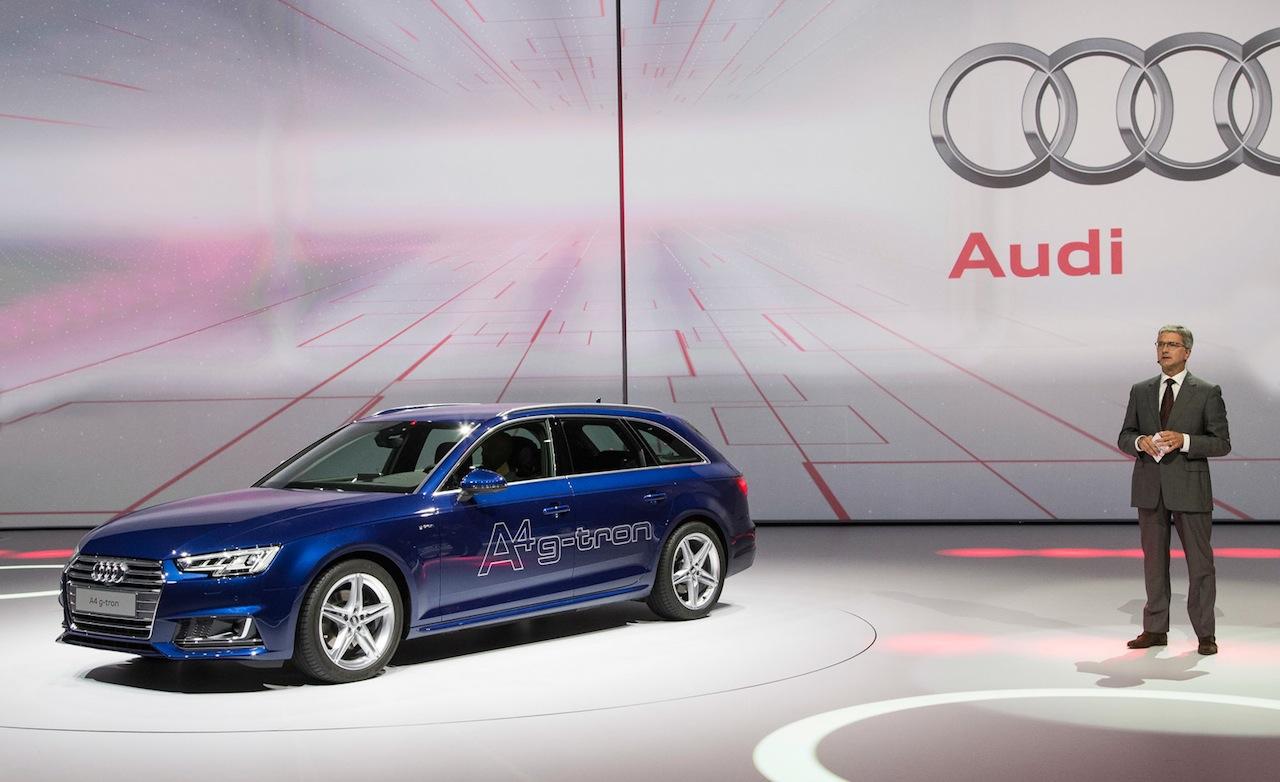Audi A4 Avant g-tron 2016