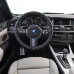 BMW X4 M40i 2016 interior 09