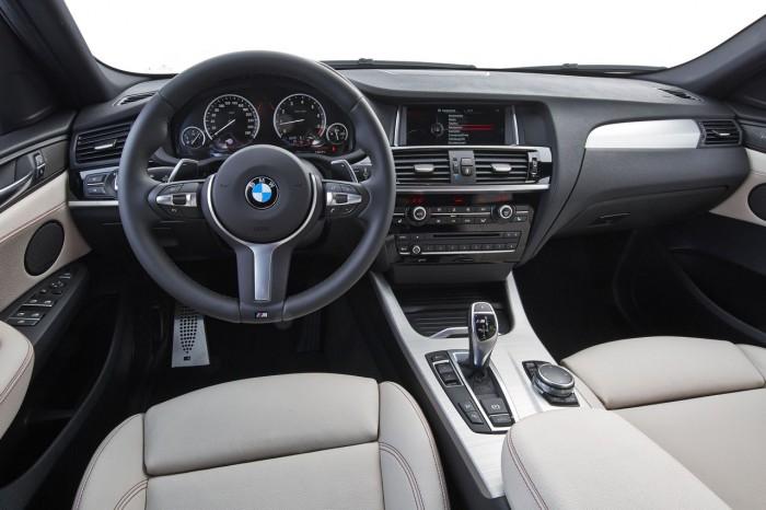 BMW X4 M40i 2016 interior 10