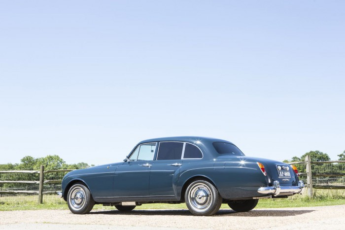 Bentley S3 Continental Flying Spur 1965 Blue Lena Keith Richards 15