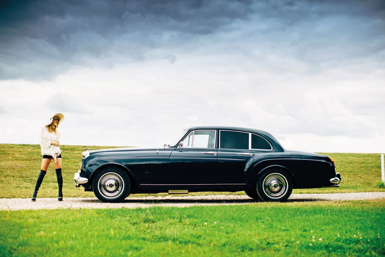 Bentley S3 Continental Flying Spur 1965 Blue Lena Keith Richards 18