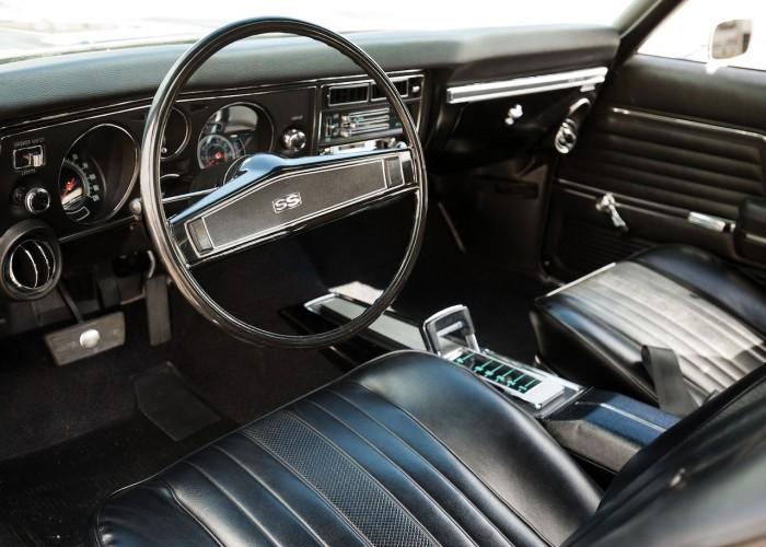 Chevrolet Chevelle SS 396 375 HP L78 Hardtop Coupe 1969 interior 02