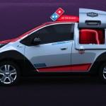DPX coche reparto Dominos pizza 04