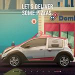 DPX coche reparto Dominos pizza 05