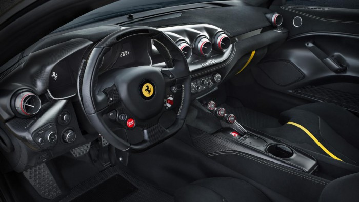 Ferrari F12 Tour de France 2015 interior 01