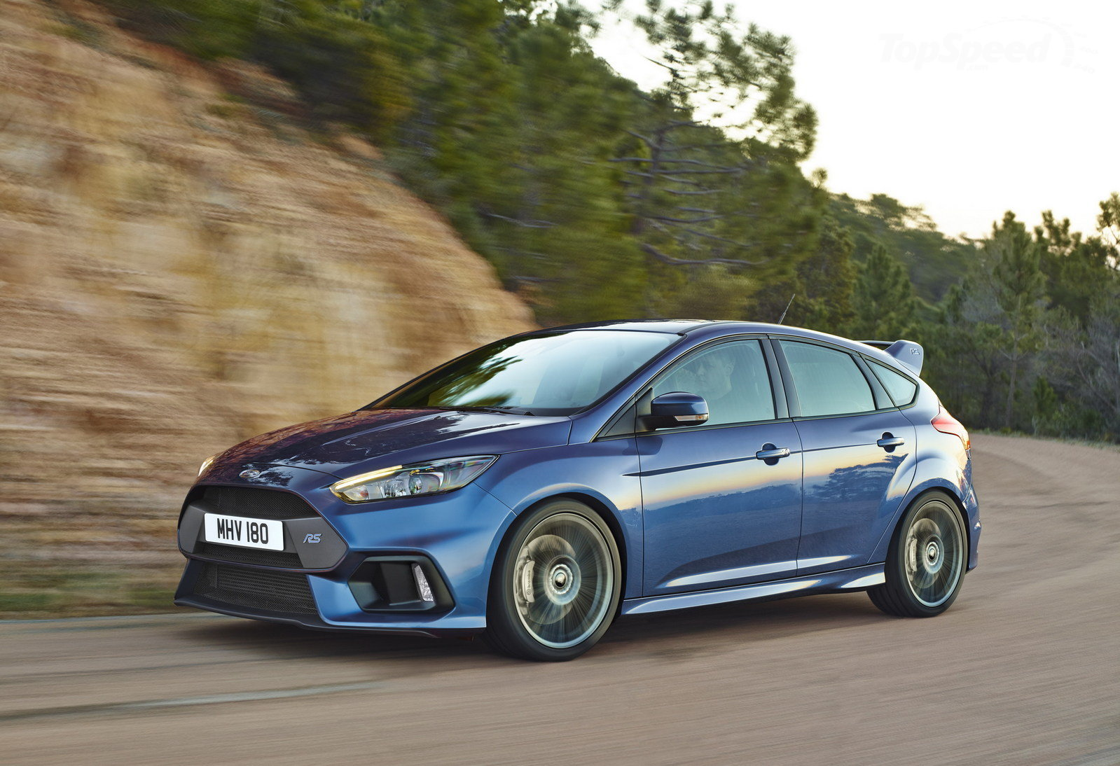 Ford Focus RS 2016 movimiento