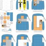 Happier Camper caravana interior adaptativo