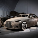 Lexus IS Origami Car 02