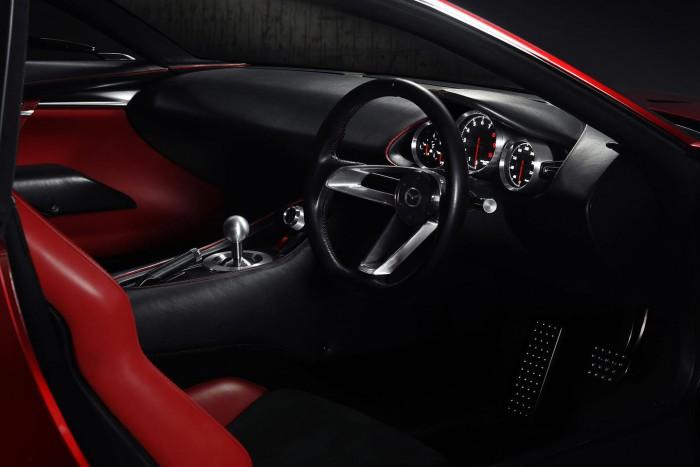 Mazda RX Vision Concept 2015 interior 02