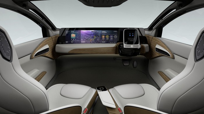 Nissan IDS Concept 2015 interior 02