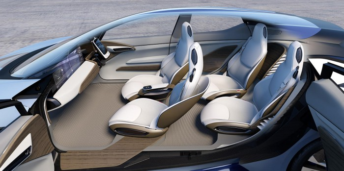 Nissan IDS Concept 2015 interior 03