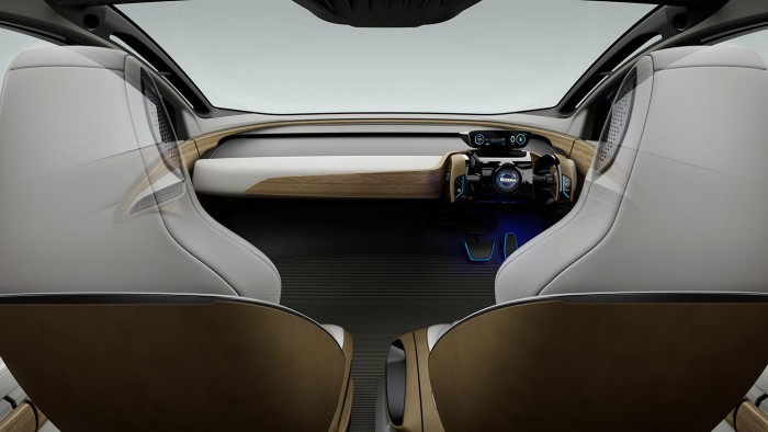 Nissan IDS Concept 2015 interior 05