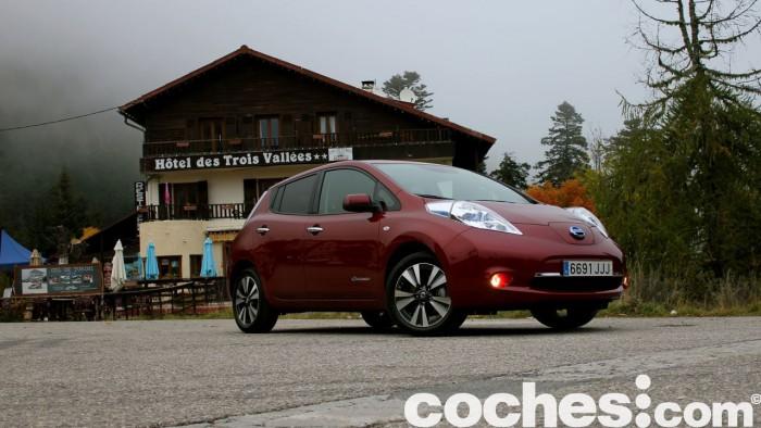 Nissan Leaf 30 kwh 2016 prueba 35