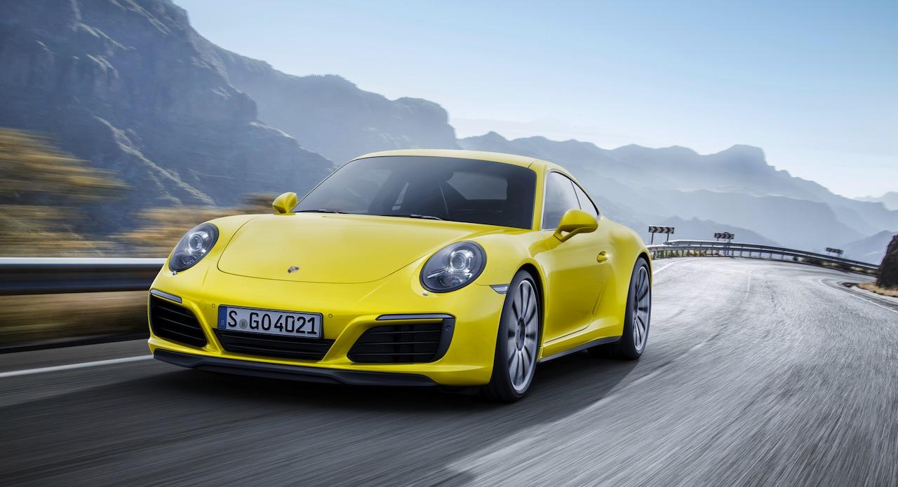 Porsche 911 Carrera 4S Coupe 2015 01