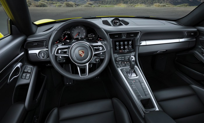 Porsche 911 Carrera 4S Coupe 2015 interior 01