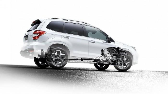 Subaru Forester 2015 tecnica