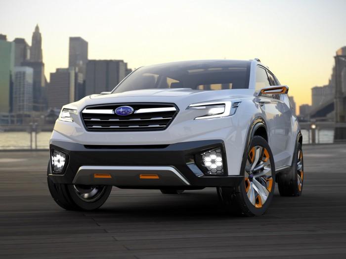 Subaru Viziv Future Concept 2015