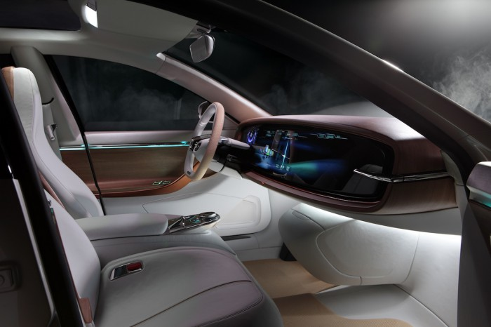 Thunder Power Sedan Concept 2015 interior 01