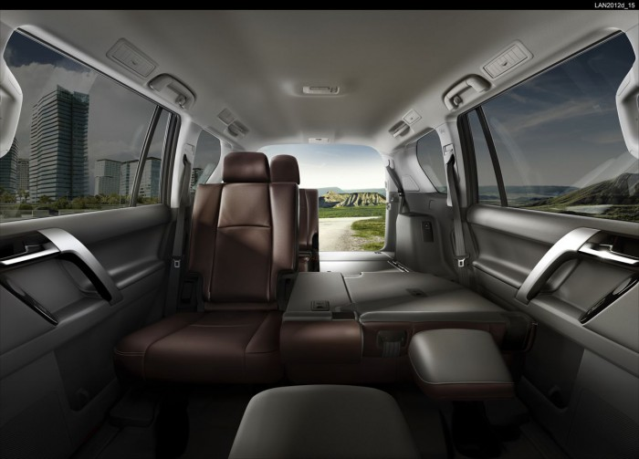 Toyota Land Cruiser 2016 interior 1