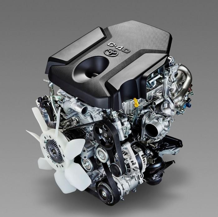 Toyota Land Cruiser 2016 motor 1
