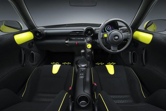 Toyota S-FR Concept 2015 interior 02