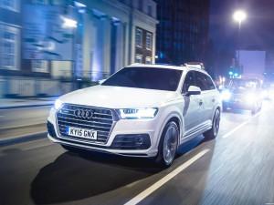 Audi Q7 TDI Quattro S-Line UK 2015