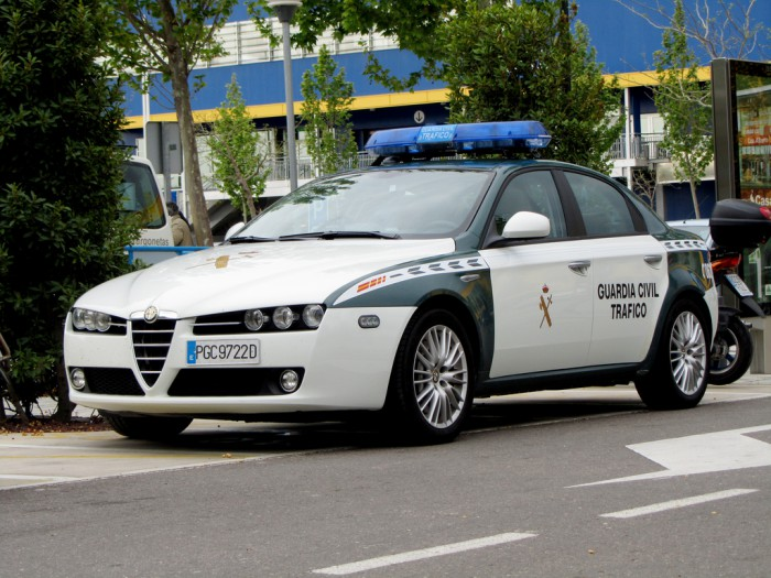 Alfa Romeo 159 Guardia Civil