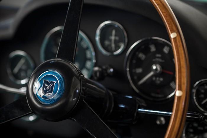 Aston Martin DB4GT Zagato 1962 interior 03