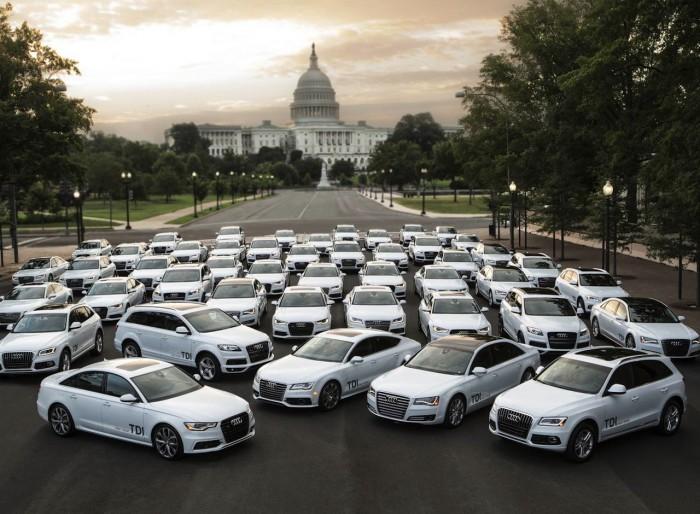 Audi TDI 2014 USA gama