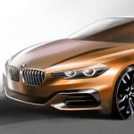 BMW Compact Sedan Concept 2015 bocetos 1
