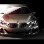 BMW Compact Sedan Concept 2015 bocetos 2