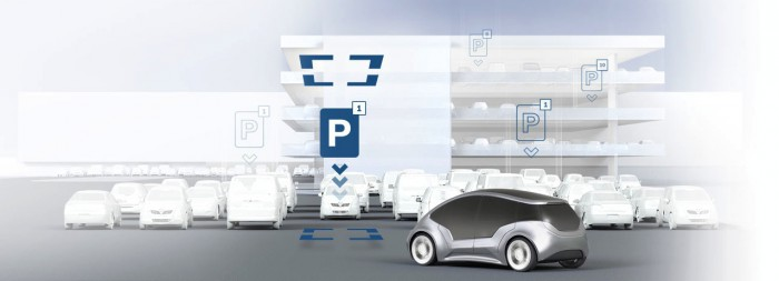 Bosch Active parking lot management